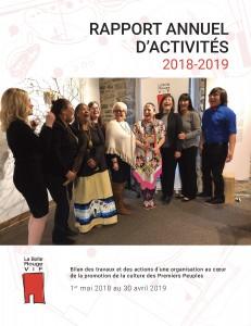 Rapport annuel d'activités 2018-2019